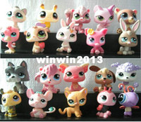 Wholesale Cheap Pvc Figures - Free Shipping 200 LOT 2.4 inch Baby PVC Action Figure Doll Toys Style Mixed Cheap Toy Shipping Randomly