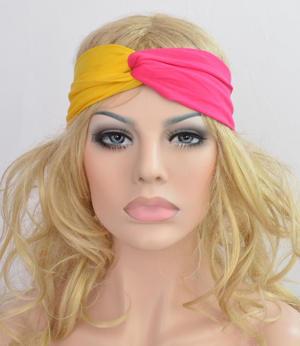 Twist Knot Headband Turban Ealstic Hair Band Headbands Two Bright Color  Style Hair Accessories For Baby Girls Baby Girls Hair Accessories From  Sunnyhy a2c9cb6bc43