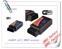Unterstützt alle OBD II Protokolle elm327 Wifi obd2 Scanner Diagnose-Tool Ulme 327 V1.5 Wireless funktioniert auf Android iphone ipad PC