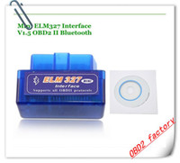 Ultima versione V2.1 Super Mini ELM327 Bluetooth OBD2 Scanner ELM 327 Bluetooth per multi-marca CAN-BUS Supporta tutto il modello OBD2