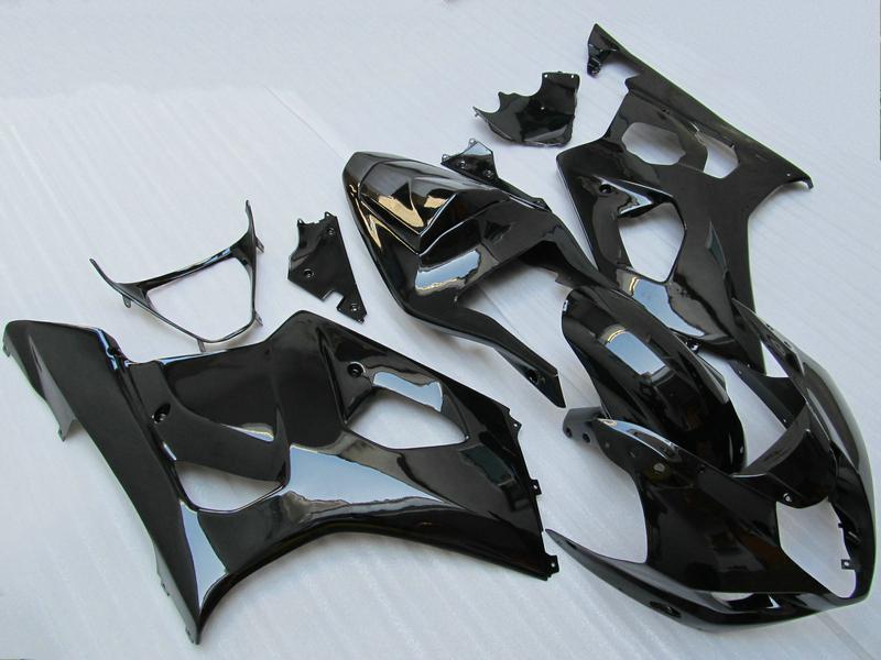 7 Geschenkmarke New Body Kit für Suzuki GSX-R1000 K3 2003 2004 GSXR1000 03 04 GSX R1000 Glossy Black Fairing Kit CC31