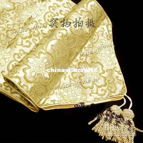 Captivating Yellow Damask Table Runners 120 Inches Long Decorative Table Cloth High  Quality Bed Runners Size L300*35cm Many Color Free Table Runner And  Placemats Table ...