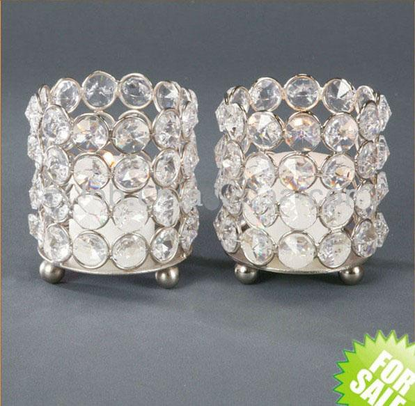 no the stand including )Crystal tealight holder, Crystal candle holder