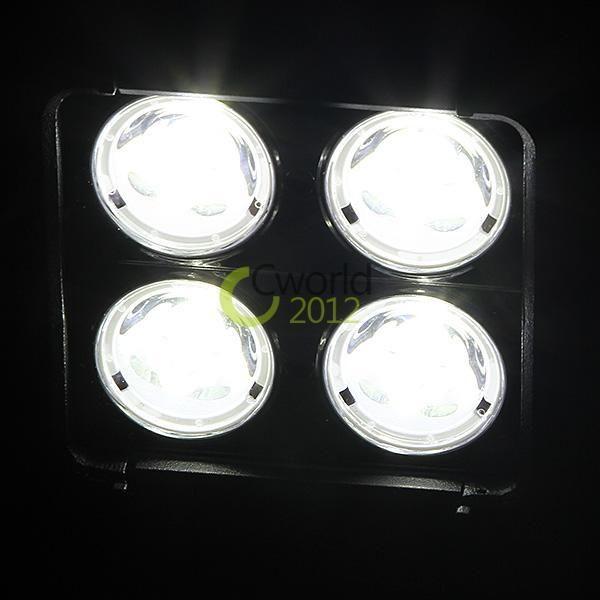 "4.6"" 40W CREE 4LED*10W Working Light Mini Bar OffRoad SUV ATV 4WD 4x4 Spot Flood Beam 4000lm IP67 9-70V 2 Row High Power Super Bright"