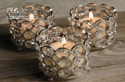 Crystal tea light holder,crystal tea light votive,crystal candle holder