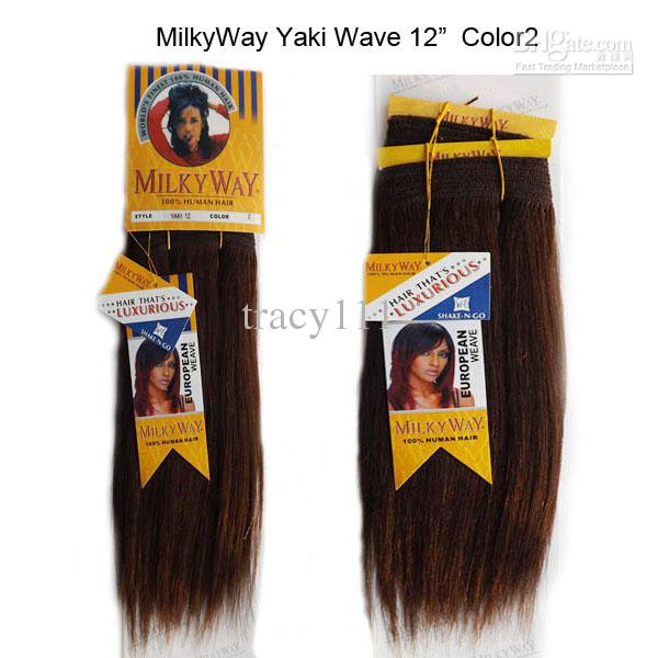 Cheap 3packsmilky way yaki wave human hair extensions remy human see larger image pmusecretfo Image collections