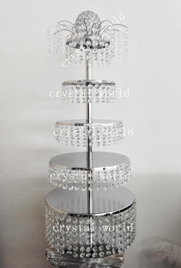 Candelabro de cristal de casamento de altura centerpiece central, peça central do candelabro do casamento, suporte de bolo centerpiececs para o casamento até mesmo festa decotation