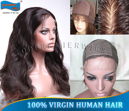 """Wholesale Size Small Machine - Small Cap Size Silk Top Full lace Wigs For women 12-22"""" Natural Color Body Wave 4X4'' Silk Base"""