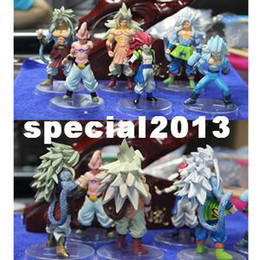 Wholesale Dragon Ball Z Goku Figure - DBZ Dragonball Z Dragon Ball AF Saiyan 5 Goku Action Figure 4""