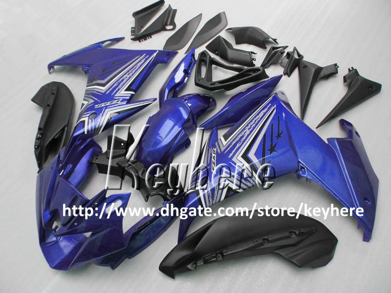 Gratis 7 geschenken aangepaste ABS-kerset voor Yamaha FZ6R FZ 6R FZ-6R FACKINGS G3A Hoogwaardige Blauw Wit Zwart Motorfiets Onderdelen