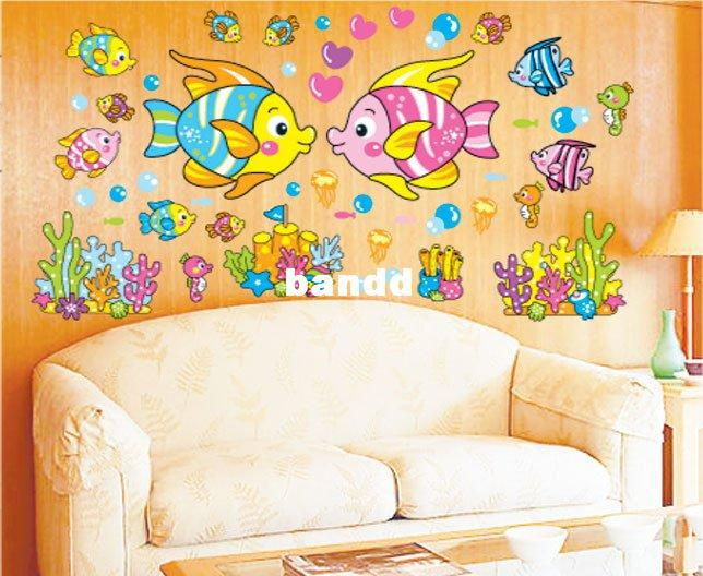 Tropical Fish Wall Stickers, Decorative Diy Wall Decals,Best ...