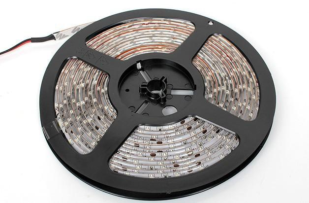 20M 20 Meter LED Nastro blu bianco rosso caldo LED Strip Light 3528 SMD Flessibile impermeabile 60LED / M Con connettore con 12 8A 96W alimentazione