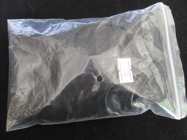 Sex Head Hood Máscara Headgear BDSM Bondage Gear Esclavo Trainer Visible Sex Toys para Mujeres Negro XLY1033