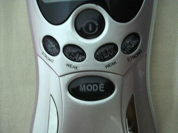 20 pcs Date conception E-Tong Laser dizaines Acupuncture numérique Thérapie Machine masseur passer CE et ROHS