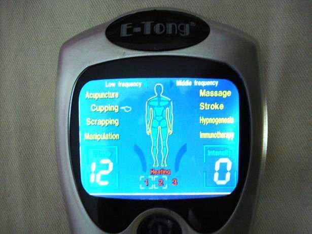 20 pcs mais novo design E-Tong Laser Tens Acupuntura Máquina de Terapia Digital Massager CE e RoHS