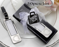 Wedding gifts Silver Travel Luggage Tags Favour for airplane...