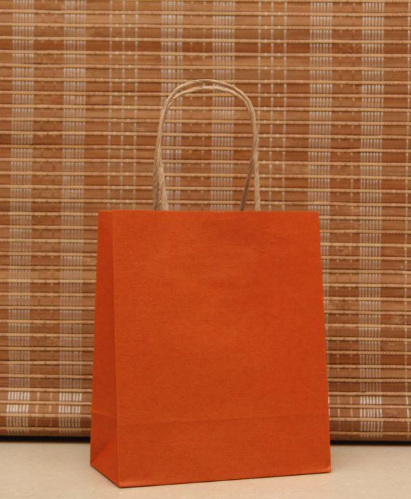 18 * 15 * 8 CM 10 RENK Şık hediye kağıt torba, kraft kağıt torba Festivali hediye paketi, YENI Boş hediye kağıt torba