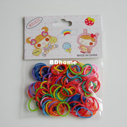 Wholesale Wholesale Beauty Supply Free Shipping - FREE SHIPPING !!100pcs 1bag 1LOT! Colorful Pet beauty supplies Pet Dog Grooming rubber band Pet hair product