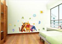 Wholesale Cheap Sticker Wallpaper - Cheap Cartoon Animal PVC Wall Sticker ,Wall Decal ,Wallpaper, Room Sticker, House Sticker Free Shipping 6351
