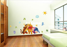 Wholesale Cheap Sticker Wallpaper - Cheap Cartoon Animal PVC Wall Sticker ,Wall Decal ,Wallpaper, Room Sticker, House Sticker Free Shipping 6351