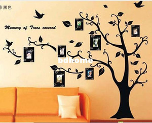 Wholesale Photo Tree Hot selling DIY Decoration Fashion Wall Sticker hm509