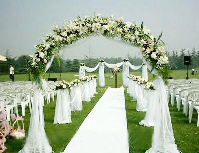 Tule decoraties bruiloft stoel bloem decor achtergrond gaas gordijn trap armleuning feestartikelen groothandel 110m / set Mooie kleuren Nieuw