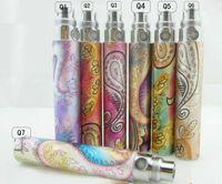 Wholesale Ego Q Kits - E Cigarette Ego Q Battery Rainbow Battery 650mah 900mah 1100mah Battery for Electronic Cigarette Kits Colorful Colors for ce4 ce5 atomizer