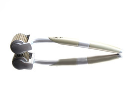 Wholesale Zgts Titanium Dermaroller - 20 pcs lot Micro Needle Derma Rollers ZGTS Titanium Dermaroller 192 Needles For Skin Care