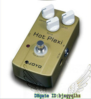 Wholesale Joyo True Bypass - NEW JOYO JF-32 Hot Plexi Overdrive Distortion Boost JCM800 Amp Guitar Effects Pedal True Bypass Free Shipping