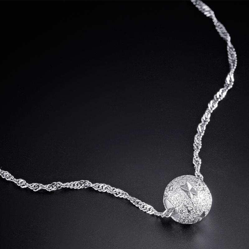 Wholesale 2013 Women S Sterling Silver Beaded Necklace