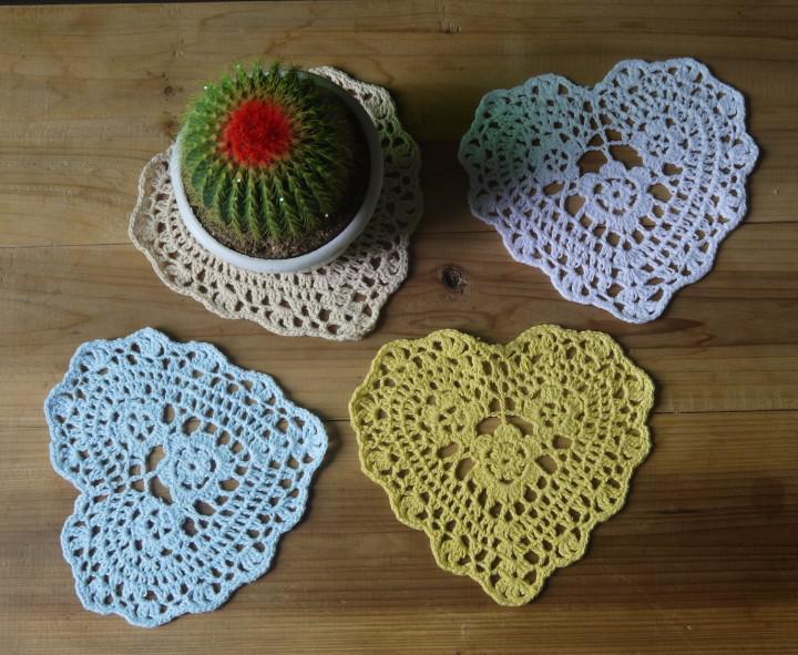 Crochê de casamento Doily Crochê Doily Branco Doily Placemats Doilies, Crocheted Doilies 16x16 cm mat tapete 20 PÇS / LOTE