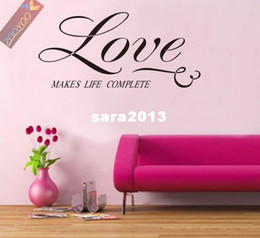 Cheap Discounted Home Decor Wholesale 40 Discount Off Zooyoo8043 58cm Love English Quote