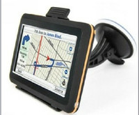 Wholesale New Cars Toyota - 5.0 Inch Car GPS Navigation System 4GB Free World Map FM Win CE 6.0 OS