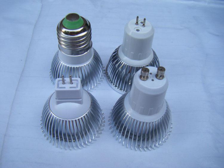 De alta potência CREE Conduziu a Lâmpada 9 W 3x3 W Dimmable GU10 MR16 E27 E14 GU5.3 B22 Levou Luz Holofotes LEVOU lâmpada de iluminação downlight lâmpadas NIMILED
