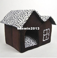 Wholesale Luxury Design Fashion Double Roof Cow Pet House Accessories For Puppy Dogs Chihuahua Poodle Cat Small Animals Home Products