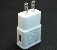 adaptateur eu white achat en gros de-Adaptateur de chargeur mural EU US Plug 2A pour Samsung Galaxy S i9500 S3 i9300 Note2 N7100 Noir Blanc
