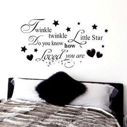 twinkle little star prices - Twinkle Twinkle Little Star Wall Quote Kids Nursery Art Decal Vinyl Stick DIY