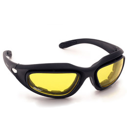 Wholesale Desert Glasses - DHL Free Shipping Daisy C5 Desert Storm Sun Glasses Goggles   Tactical Protective Riding Glasses