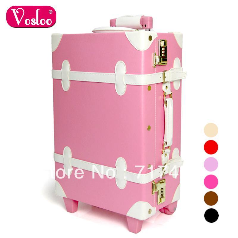 Vosloo Married Vintage Trolley Luggage Travel Bag Luggage Bag 20 ...