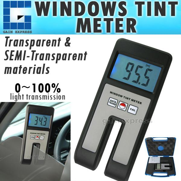100 Meters Visual : Wtm handheld digital window tint visual light