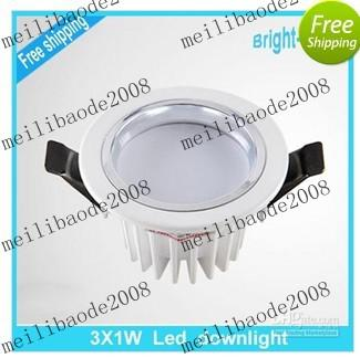online cheap suspended ceiling lighting fixtures dimmable led bathroom light 3w with d myy1053 by dhgatecom - Cheap Light Fixtures
