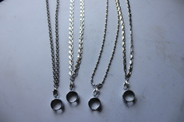ego t k UK - Fashionable Stinless Steel Necklace String Neck Chain  Lanyard for ego,ego-t,ego-k, ego-c, ego-F E Cigarette