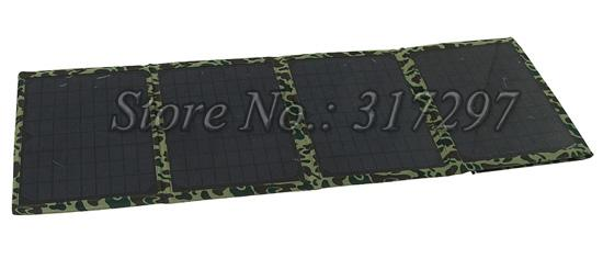1pc/lot 40W/18V Solar Charger for Laptop/12V Battery with High Efficient 40W Foldable Solar Panels