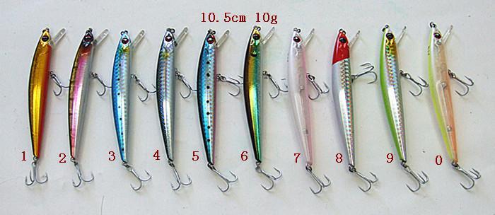 Fiske tackling minnow bete fiske lure casting lure hav lockar hårt bete plast läppkaka krok flytande två storlek