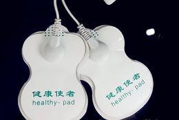 100 pcs Almofadas Eletrodo almofadas saudáveis para Backlight Dezenas / Acupuntura / Terapia Digital Máquina Massageador em Promoção