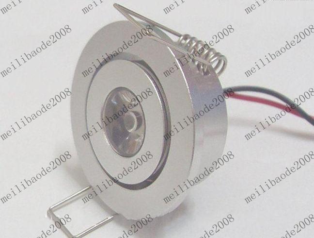 1W führte Deckenleuchte downlight Beleuchtungslampenbirne AC85 ~ 265V warmes Weiß / hite Garantie MYY170