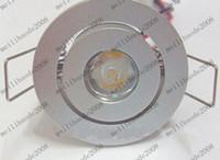 Wholesale Aluminum Led Bulbs - 1W led ceiling light downlight lighting lamp bulb AC85~265V Warm white hite warranty MYY170