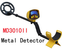 Wholesale long range detector gold - LCD Long Range Underground MD3010II Ground Searching Metal Detector,Gold Digger Waterproof underground Coil stone detector MD3010II
