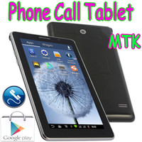 """Wholesale Mtk6515 Dual Sim - 7"""" P1000 Phablet MTK6515 2G GSM Phone Call Android 4.1 Tablet PC Dual SIM Card With Replace Battery Solt 2 Camera Bluetooth"""
