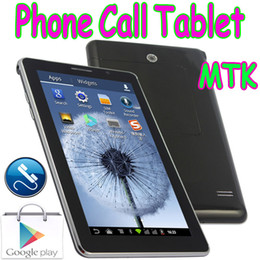 "Wholesale Mtk6515 Tablet Phone - 7"" P1000 Phablet MTK6515 2G GSM Phone Call Android 4.1 Tablet PC Dual SIM Card With Replace Battery Solt 2 Camera Bluetooth"